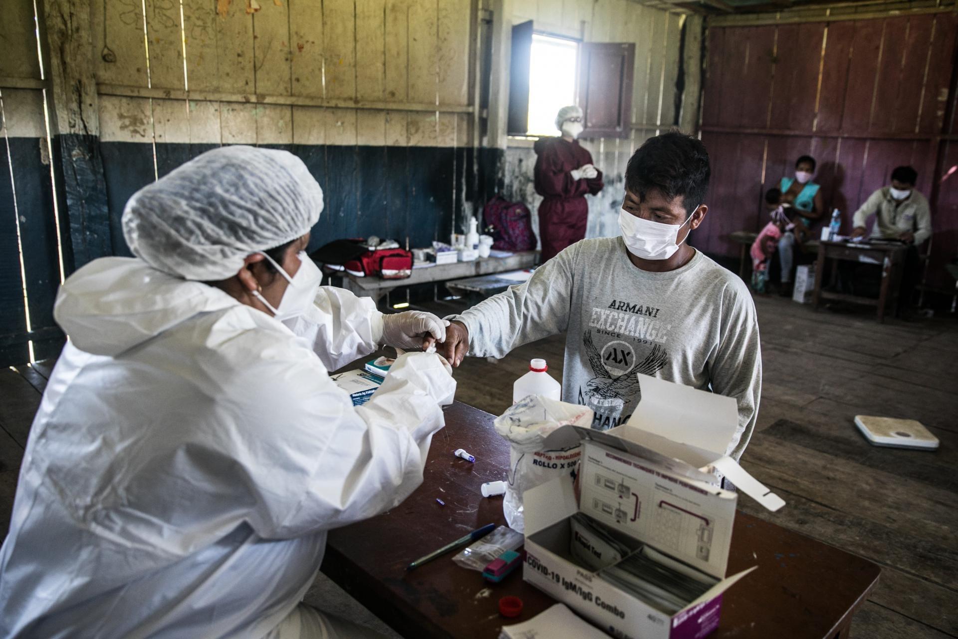 Proceso de vacunación con los Pueblos Indígenas