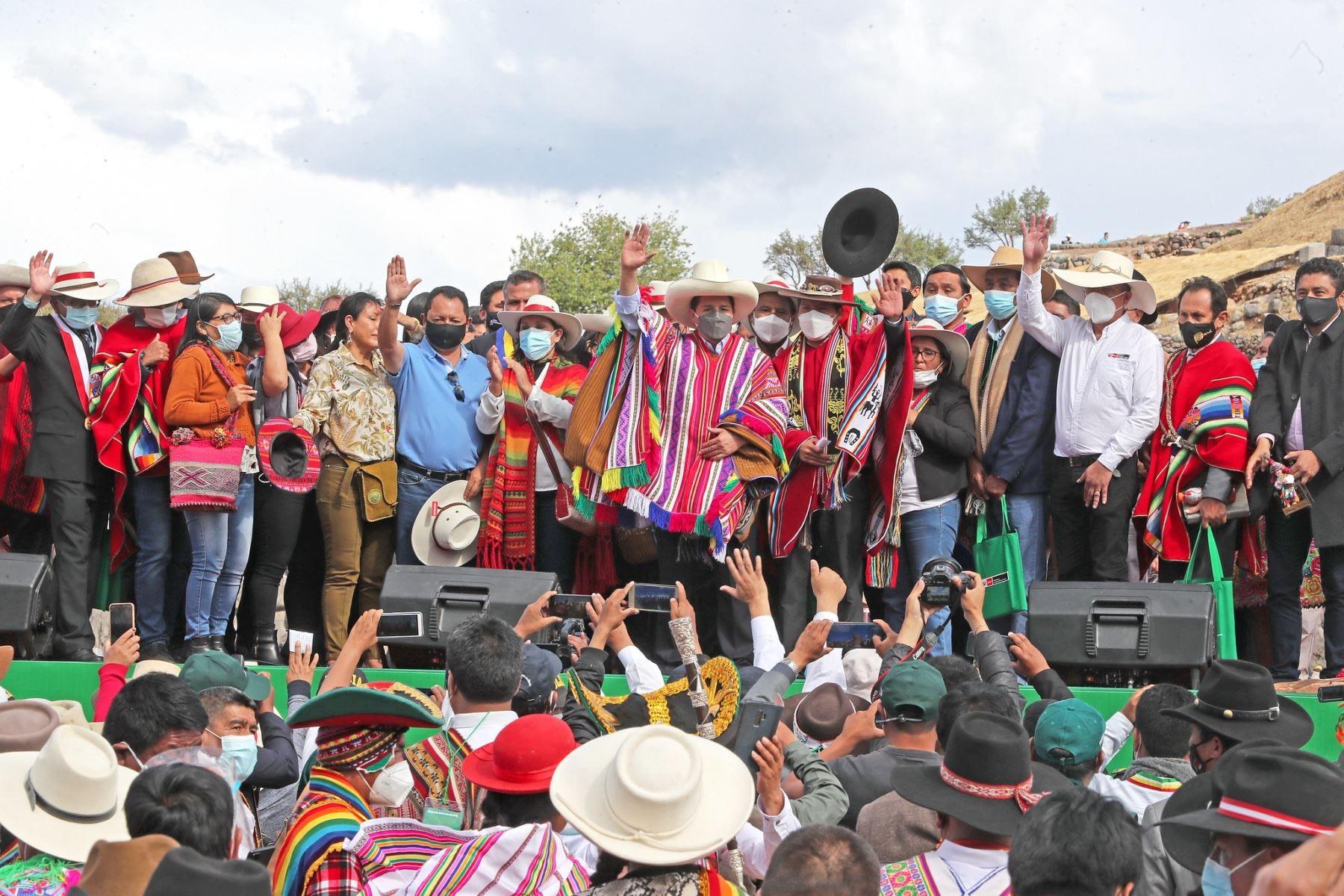 Gobierno lanzó II Reforma Agraria en la ciudad del Cusco