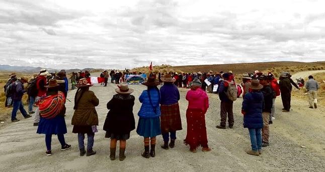 Las Bambas: Comunidades dan tregua de 60 días al ejecutivo para solucionar sus demandas