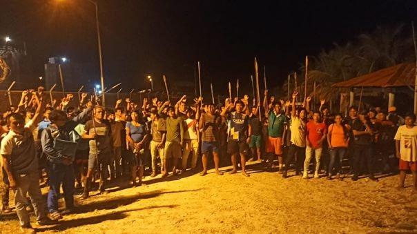 Paro Amazónico: Cientos de indígenas toman la Estación 5