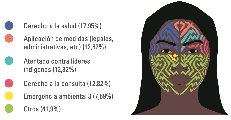 Vulneraciones derechos colectivos pueblos indígenas