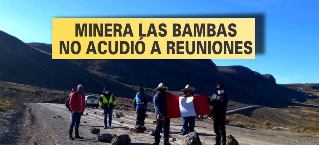 Las Bambas: Chumbivilcas reinicia protestas ante incumplimientos de Las Bambas y el Ejecutivo