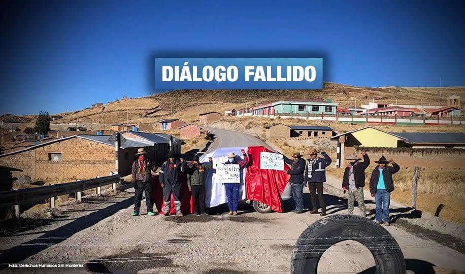 Las Bambas: Gobierno no logra recuperar confianza de comunidades de Chumbivilcas para retomar mesa de diálogo