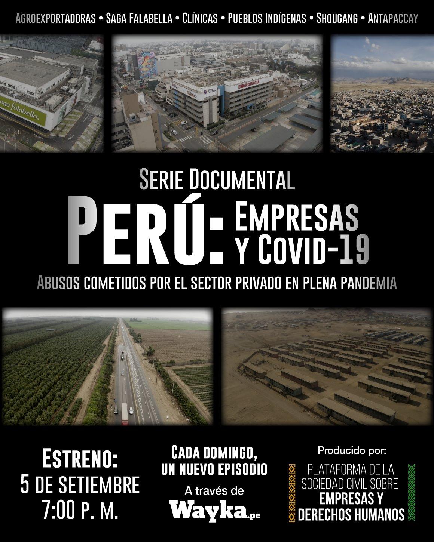 Serie Documental: Perú: Empresas y COVID-19