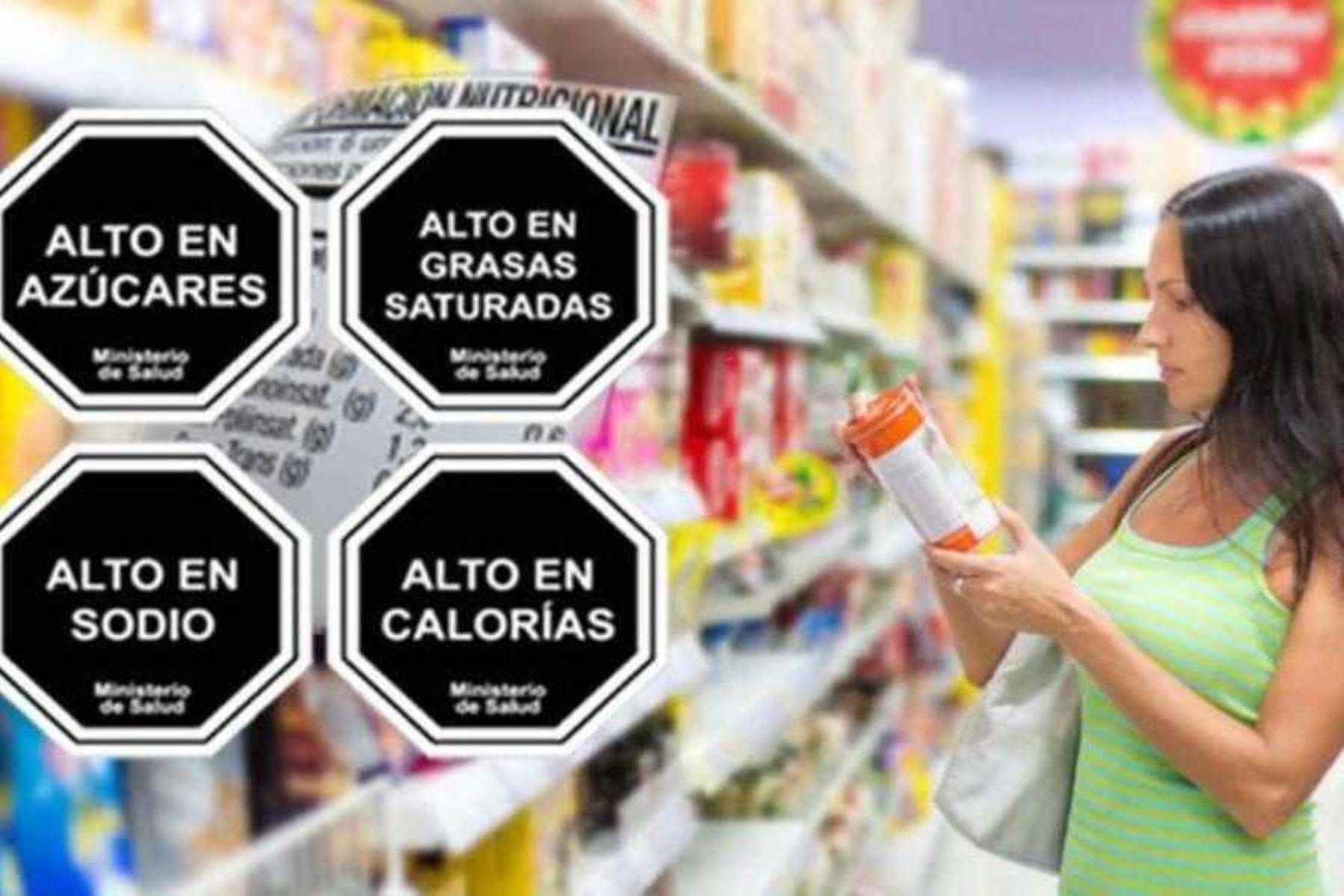 Nuevos parámetros para colocación de 'octógonos' en etiquetas de alimentos y bebidas