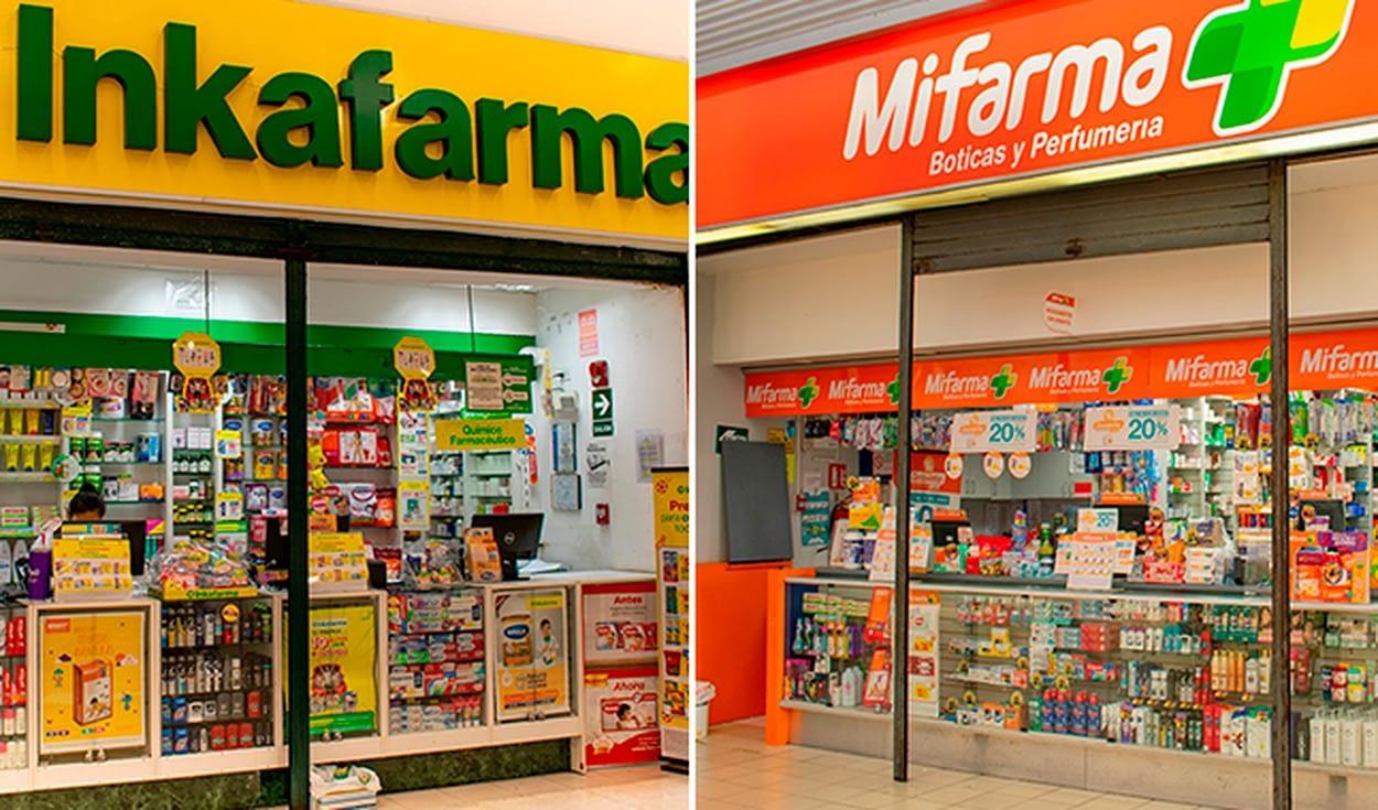 Indecopi ordenó a Inkafarma, Mifarma y Boticas Arcángel vender medicamentos genéricos por unidad