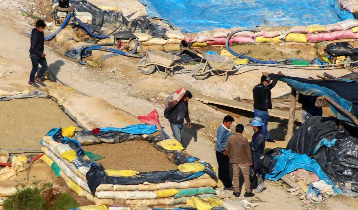 La Libertad: 80% de trabajadores son explotados por mineras ilegales en cerro El Toro
