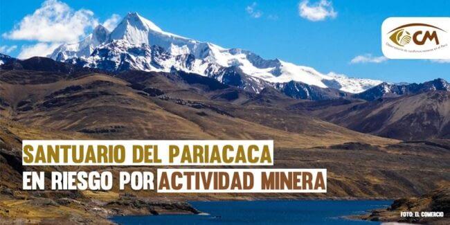 El santuario del Pariacaca en riesgo por la actividad minera