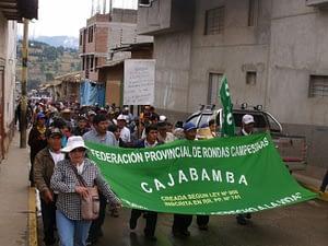 Rondas campesinas de Cajabamba