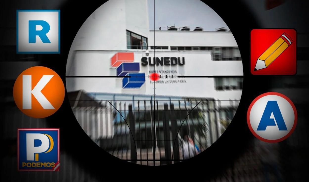 Congresistas ligados a universidades privadas se manifiestan en contra de la SUNEDU